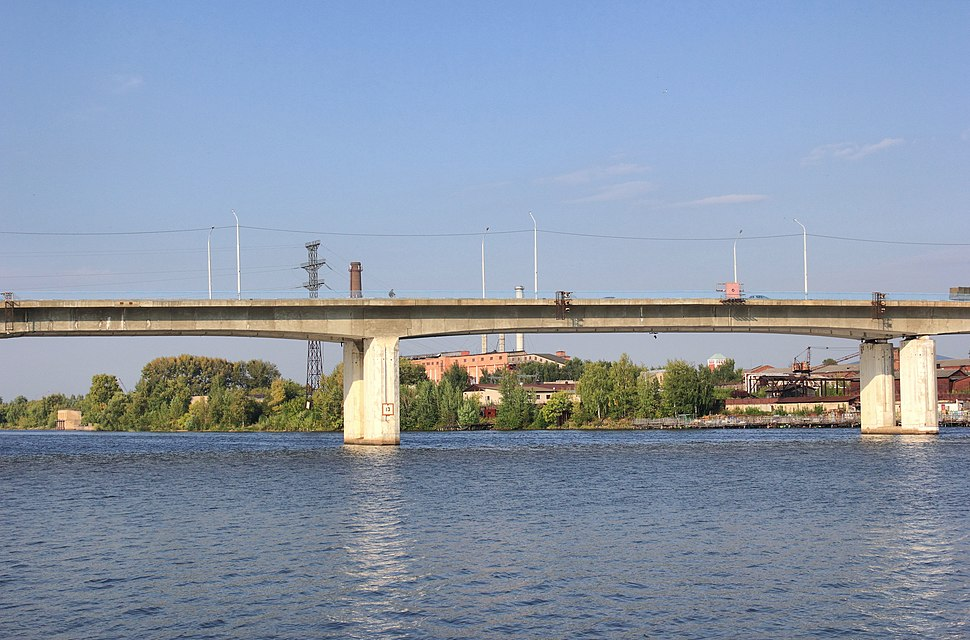 Кострома. Река Кострома. Автомобильный мост 3 - panoramio