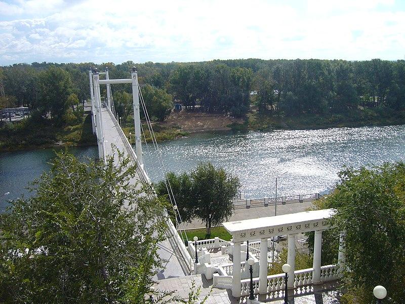 File:Набережная реки Урал в г. Оренбург.JPG