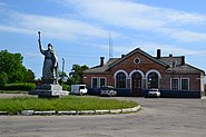 Пам'ятник Б. Хмельницькому у м. Любомль