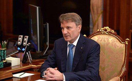 Президент, председатель правления Сбербанка России Герман Греф 02