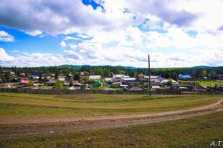 Toora-Khem Selo in Tuva, Russia