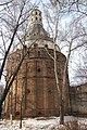 "Симонов монастырь, башня ""Дуло"" снаружи монастыря - panoramio.jpg"