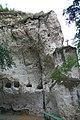 Скельний монастир (мур.), могили монахів.jpg