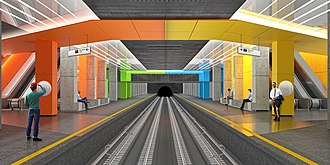 Nizhegorodskaya Ulitsa (Moscow Metro) - Station project