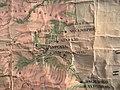 Фрагмент старой болгарской карты с южным побережьем (школа Златограда).jpg