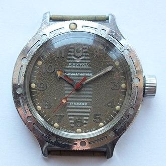 Vostok watches - The Vostok diving watch Amphibia