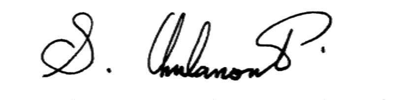 Surayud Chulanont's signature