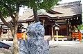 住吉大社にて 第四本宮前のうさぎの石像 2012.10.13 - panoramio.jpg
