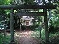 御嶽山 (桜川市)山頂付近の御嶽神社.JPG