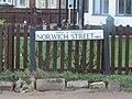 -2019-01-09 Street name sign, Norwich Street, Mundesley, Norfolk.JPG