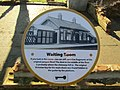 -2019-02-26 Information sign, the waiting room, Honing railway station.JPG