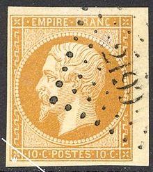 Timbres de France 1853 — Wikipédia