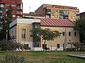 013 Molí d'en Masachs, c. Balmes 2 (Ripollet), façana del parc del Riu Ripoll.jpg