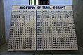01History Tamil Script by Centuries Dakshinchitra Mamallapuram 2011.jpg