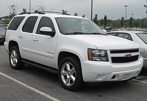 2007 Chevrolet Tahoe photographed in USA.