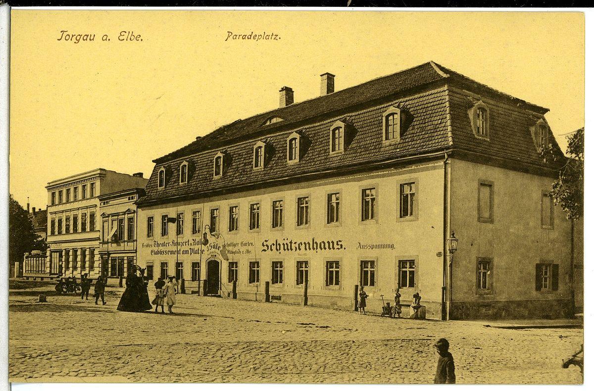07785-Torgau-1906-Paradeplatz und Schützenhaus-Brück & Sohn Kunstverlag.jpg