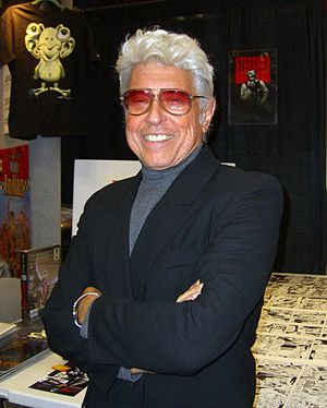 Jim Steranko - Steranko at the 2012 New York Comic Con