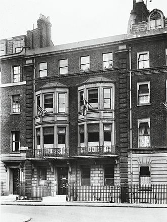 Andrew Balfour - 10 Henrietta Street, first home of the Wellcome Bureau of Scientific Research.