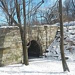 110th St Arch sun snow jeh.jpg