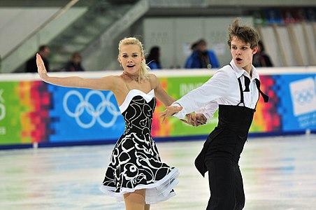 Youth Olympic Games 2012 Innsbruck, Austria; Jana Čejkova & Alexandr Siničin (CZE)