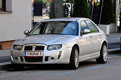 Rover 75 po face liftingu
