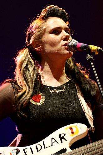 Kate Nash - Nash performing in June 2013