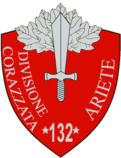 132nd Armoured Division Ariete armoured division of the Italian Army