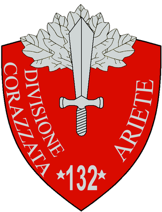 132nd Armoured Division Ariete - 132a Armoured Division Ariete Insignia