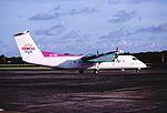 153aa - BWIA Express DHC-8-311 Dash 8Q, 9Y-WIP@TAB,14.10.2001 - Flickr - Aero Icarus.jpg