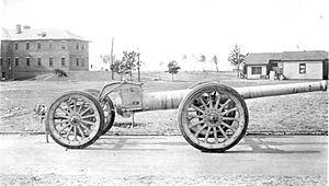 Canon de 155 L Modele 1917 Schneider - Image: 155mm Schneider Gun Modele 1917 Travelling Position