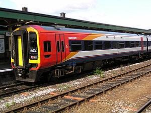 British Rail Class 159 - A Class 159 in the 2000 version of SWT Mainline livery