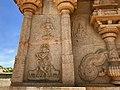 15th century Hazara Rama temple Krishna with flute, Hampi Hindu monuments Karnataka.jpg