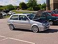 161 - Custom silver October 1990 Rover Metro 1.8 GTi, front.jpg