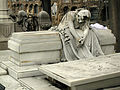 162 Tomba dels germans Marnet i Sacco, escultura de Josep Dalmau.jpg