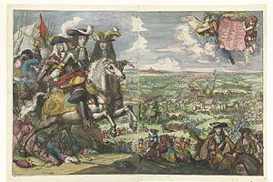 Battle of Saint-Denis (1678) - Image: 1678 Slag bij St. Denis Romeyn de Hooghe