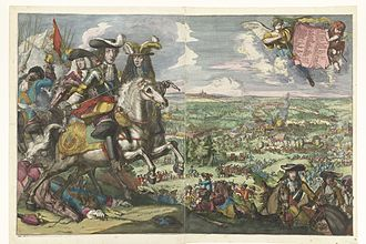 Battle of Saint-Denis (1678) - Battle of Saint-Denis by Romeyn de Hooghe