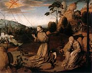 16th-century unknown painters - St Francis Altarpiece (central panel) - WGA23747.jpg