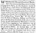 1734 SamuelKneeland NewEnglandWeeklyJournal Boston 29April.png