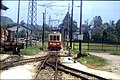 176R28140688 Attergaubahn, Bahnhof St. Georgen, Blick Richtung Attersee, Lok 26 107.jpg