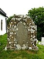 1780 masonry surrounded gravestone, Penbryn church - geograph.org.uk - 886140.jpg