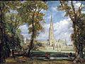 1825 Constable Kathedrale von Salisbury anagoria.JPG