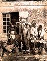 1850 le depecage de porc par Louis Humbert de Molard 1847 1898.jpg