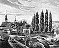 1863 - Boppard, Eisbreche mit Sandtor und Ritter-Schwalbach-Haus.jpg