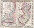 1866 Mitchell Map of New Jersey, Maryland, and Delaware - Geographicus - MarylandNewJersey-mitchell-1866.jpg