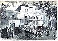 1871-09-25, La Ilustración Española y Americana, Madrid, Llegada de la ex-emperatriz de los franceses á la quinta de su señora madre, en Carabanchel.jpg