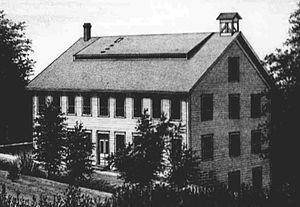 Ashland, Oregon - The Ashland Woolen Mills circa 1881