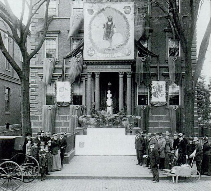 1892 DalandHouse ColumbusDay Salem Massachusetts byFrankCousins 2