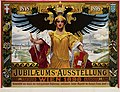 1898 circa Alois Hans Schram Plakat 1848-1898 Jubiläums-Ausstellung Wien - Fünfzigjähriges Regierungsjubiläum Kaiser Franz Joseph I., Samuel Czeiger.jpg