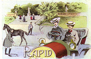 Società Torinese Automobili Rapid - 1900s S.T.A.R. Rapid poster