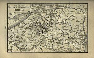 Buffalo and Susquehanna Railroad - Image: 1901 Poor's Buffalo and Susquehanna Railroad